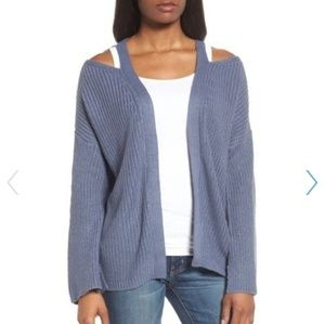 NWT RD Style Cutout Cardigan Sweater